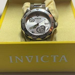 Invicta Watch 12286 Women's ProDiver White Crystal